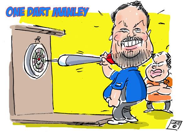 dart caricature