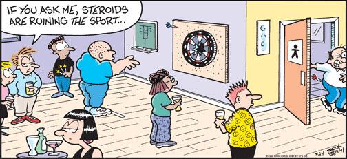 dart caricatures