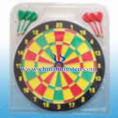 paper dart board